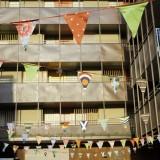 Limonada y tiendas en el Picnic Urbano de Las Armas