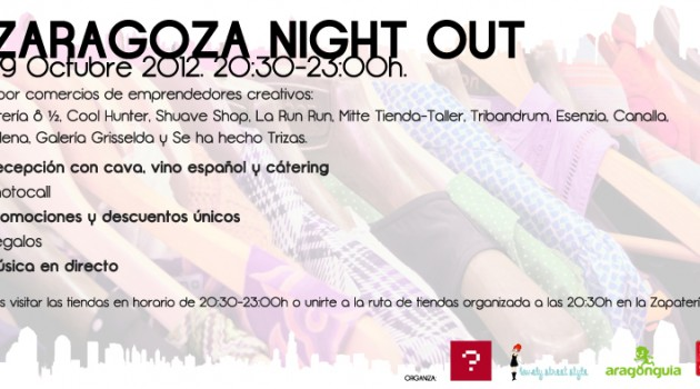 I Zaragoza Night Out - flyer