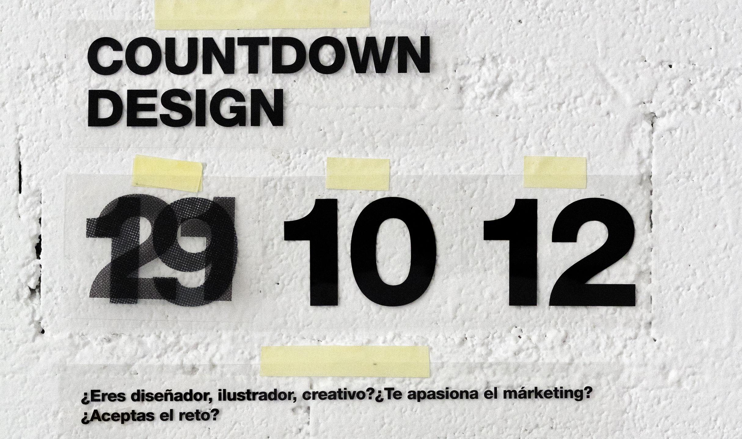 cartel countdown design