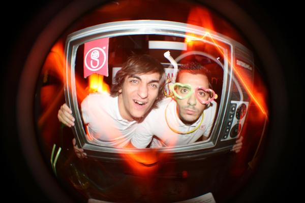 Hugo y Alberto, en la última fiesta de Suitdreams.es