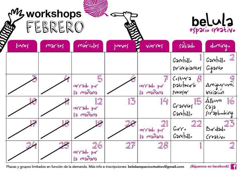 workshops belula