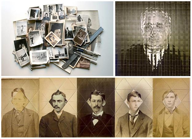 Collages geométricos de Susana Blasco