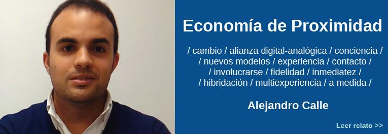 Alejandro Calle sobre Comercio de Proximidad