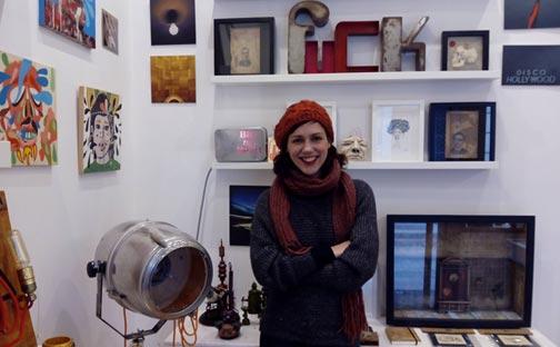 Penélope Sariñena, propietaria de Brigadoon Independent Gift Shop