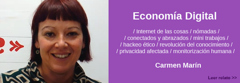 Relato de Carmen Marin sobre la Zaragoza digital del futuro