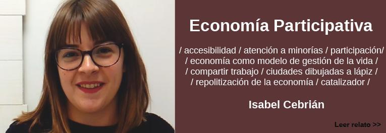 Isabel Cebrian habla de economia participativa