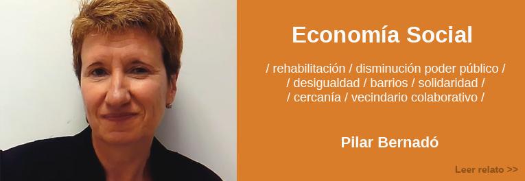 Relato sobre la economía social en la Zaragoza del futuro por Pilar Bernadó