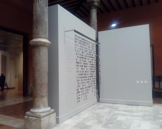 """Exposición """"Dibujar el Espacio. De Picasso a Plensa"""" en el Palacio de Sastago"""