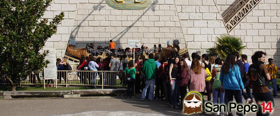 Fiesta universitaria San Pepe en el Parque de Atracciones de Zaragoza