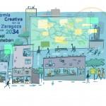 LAB2034 Economías creativas en la Zaragoza de 2034 por Samuel Esteban