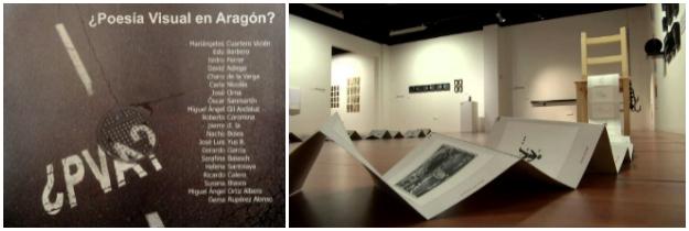 """Exposición """"¿Poesía Visual en Aragón?"""""""
