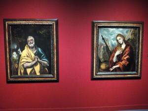 Cuadros que adquirió Rusiñol del Greco