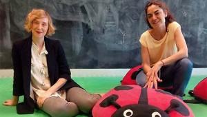 Aitana Muñoz y Adriana Lacambra, coordinadoras de #CIEMZaragoza