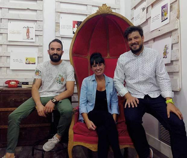 Bea, Fran y Rodd, los impulsores de Canalla Shop
