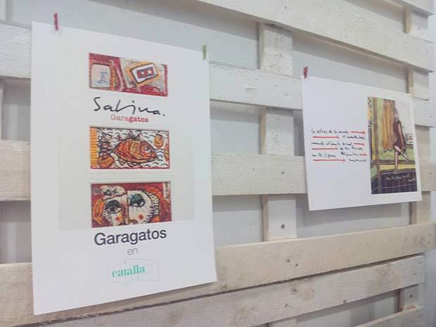 """Exposición """"Garabatos"""" con ilustraciones y textos de Joaquin Sabina"""