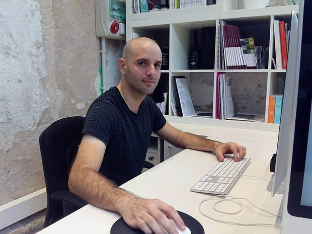 Miguel Bielsa, fundador del Estudio de Diseño Gráfico Mique