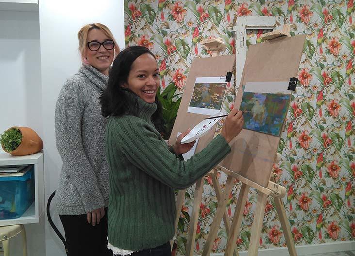 Entrevista con Magdalena Puente, profesora e impulsora de la Academia de dibujo y pintura Mariposa 88