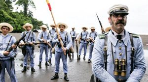 Fotograma de '1898. Los últimos de Filipinas', película inaugural del 21 FCZ (Sony Pictures)
