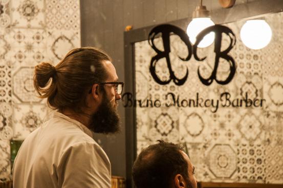 Bruno Monkey Barber, una barbería de hoy como las de antes