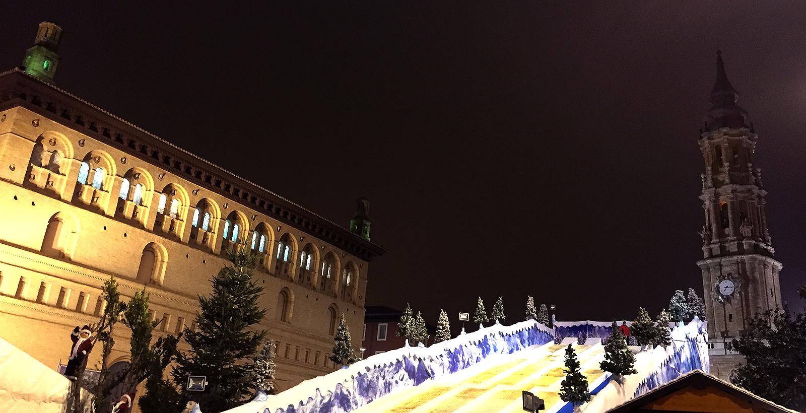 Actividades navideñas en Zaragoza