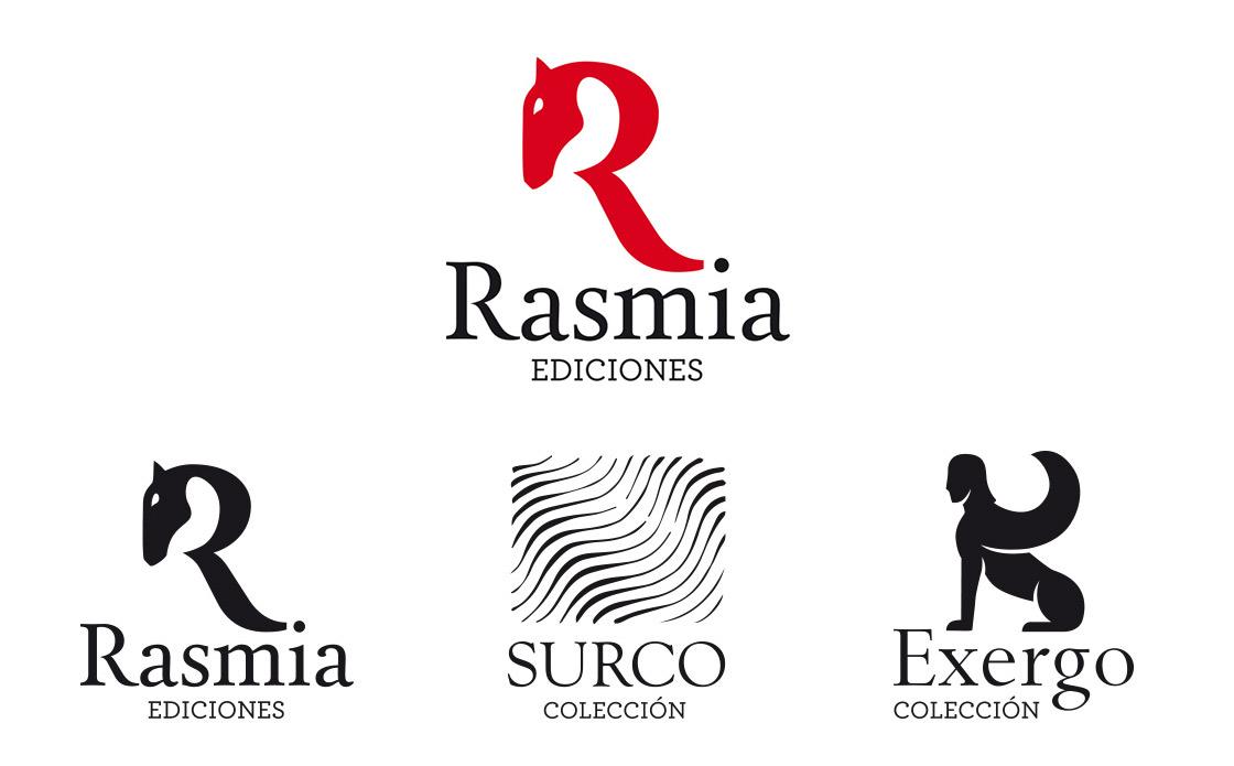 Identidad corporativa de Rasmia Ediciones