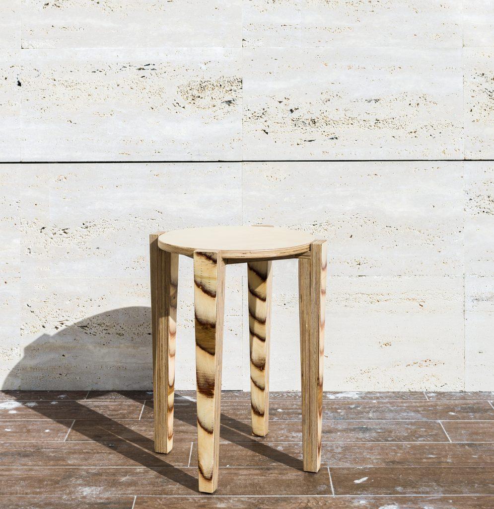 silla reciclada Petula Plas