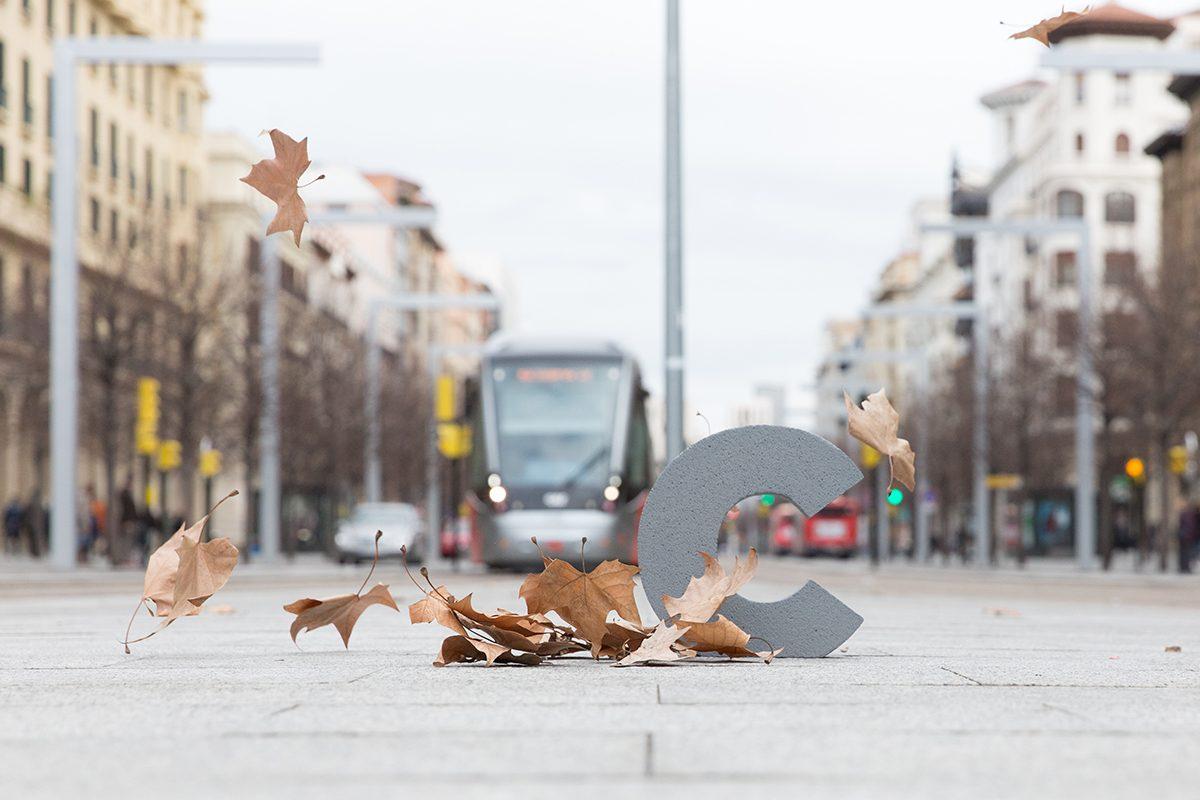 Letras en la ciudad. Proyecto social y colaborativo de intervenciones artísticas en entornos urbanos