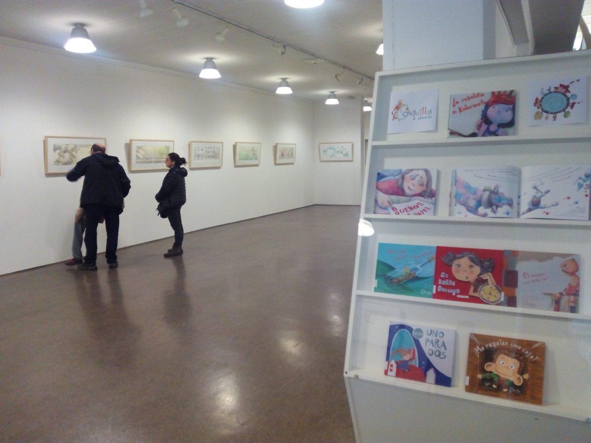 """Exposición """"Sueños en papel"""" del ilustrador Javi Hernandez y Editorial Cosquillas"""