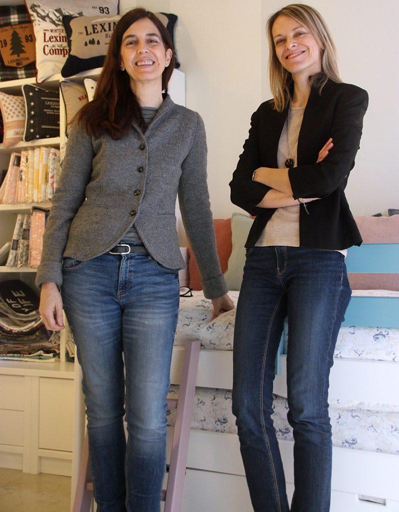 Nieves Puyuelo y Paula Vela