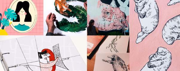 7 ilustradoras de Zaragoza que deberías seguir en Instagram