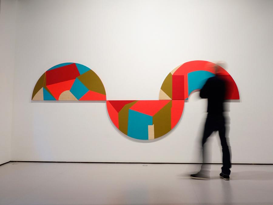 La abstracción geométrica de Cristina Silván