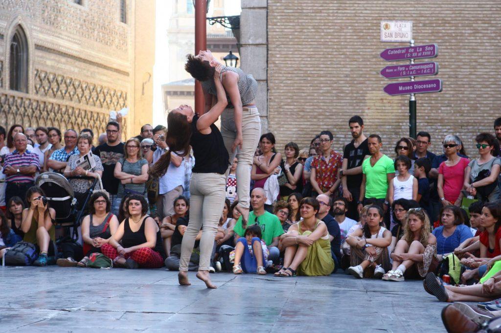 Colectivo Ambulante en Trayectos 2016. Foto Manuel Ballestín.