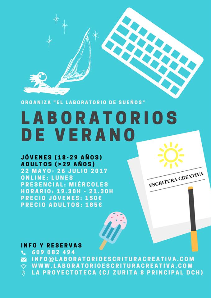 programacion cursos escritura Zaragoza