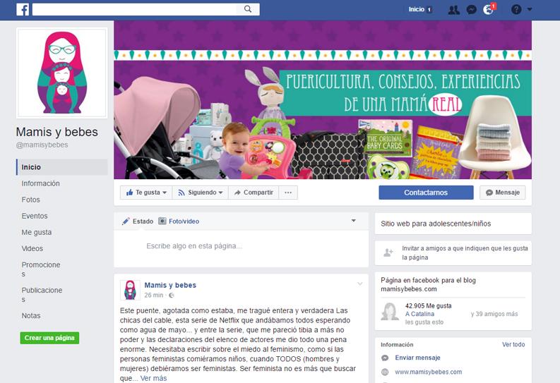 mamis y bebés facebook