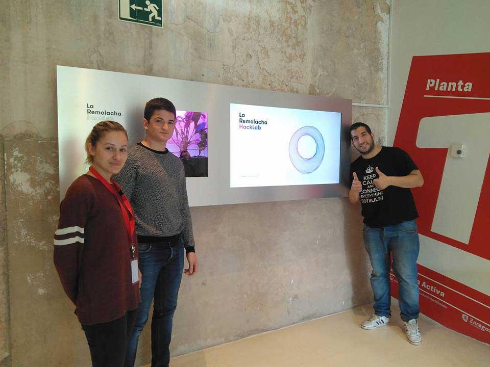 Charlamos con los coordinadores de La Remolacha HackLab, el nuevo entorno de aprendizaje práctico y colaborativo de Zaragoza Activa