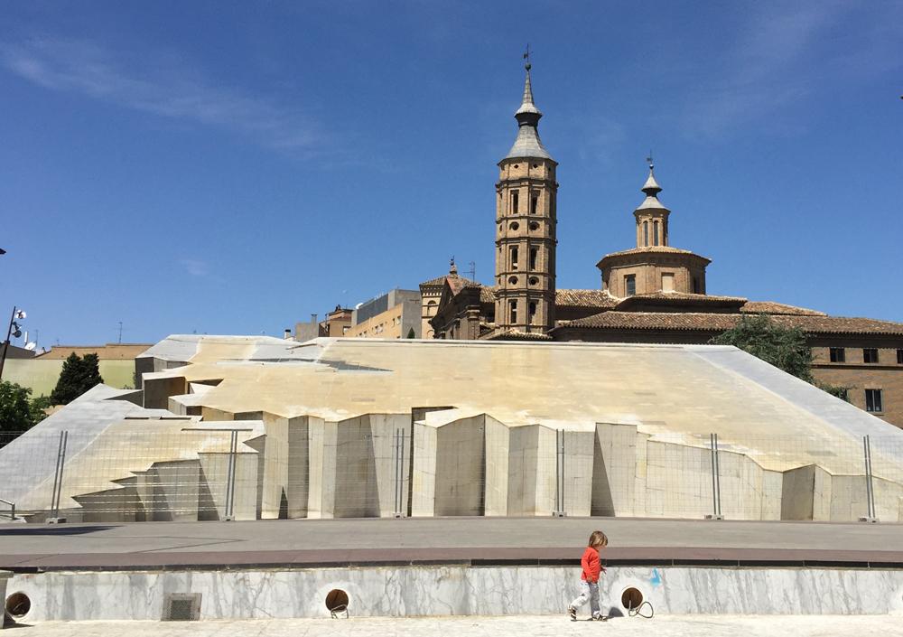 Disfrutando de Zaragoza en verano con los peques