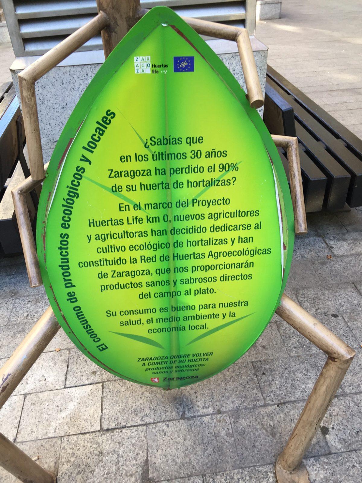 A contracorriente: Zaragoza, una ciudad sostenible