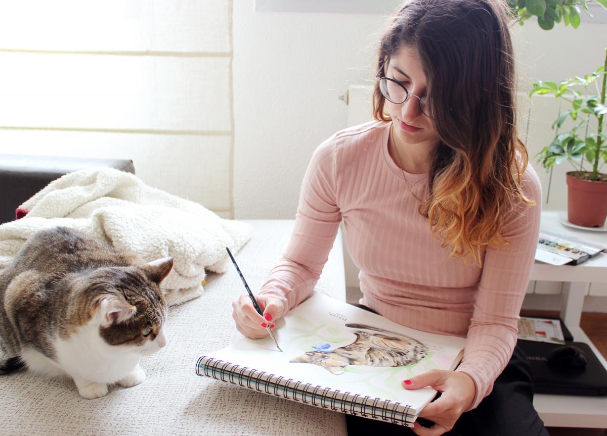 Las ilustraciones sensibles y expresivas de Laura Izquierdo