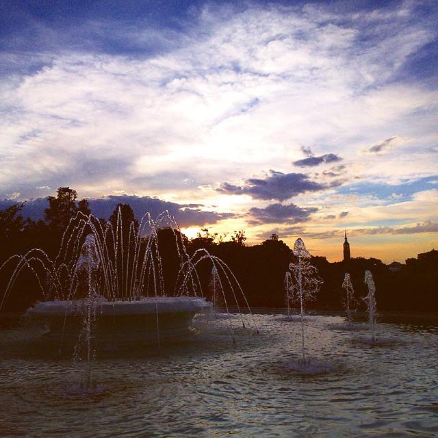 Donde ver atardecer en Zaragoza