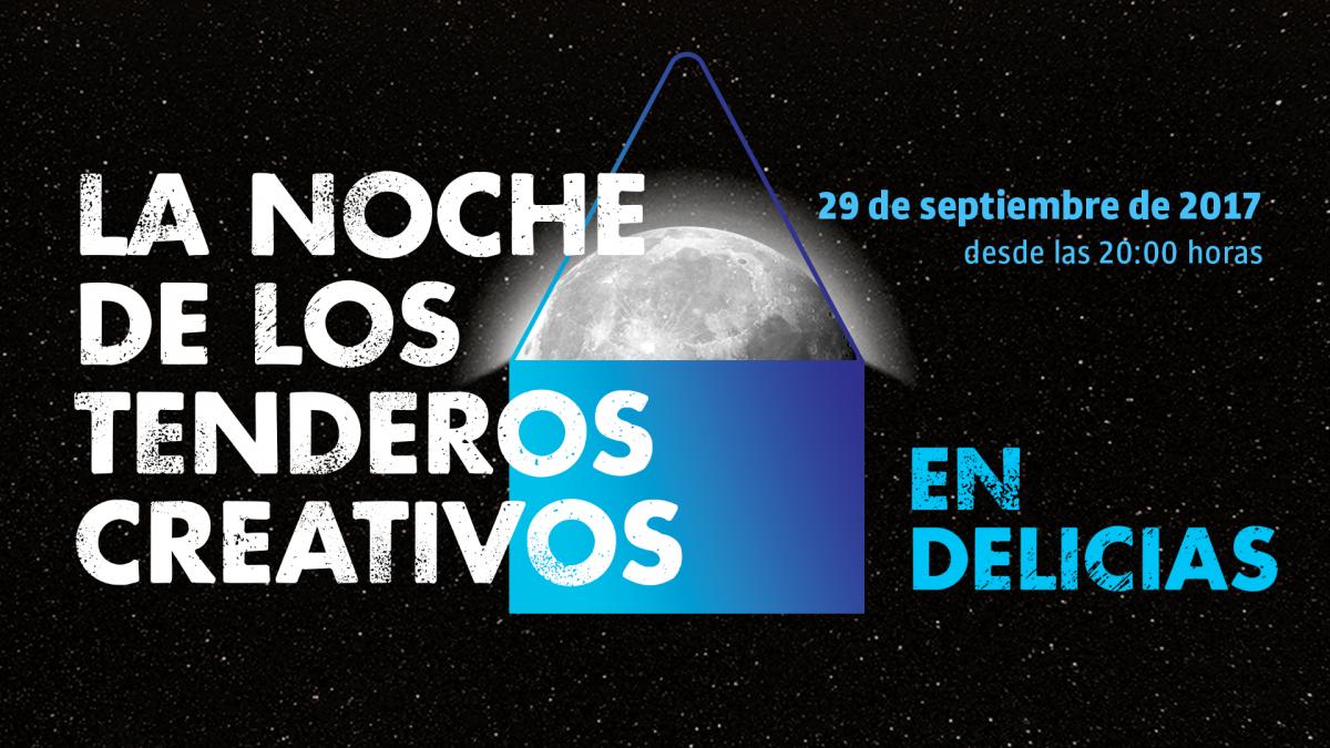 Participantes en La Noche de los Tenderos Creativos en Delicias