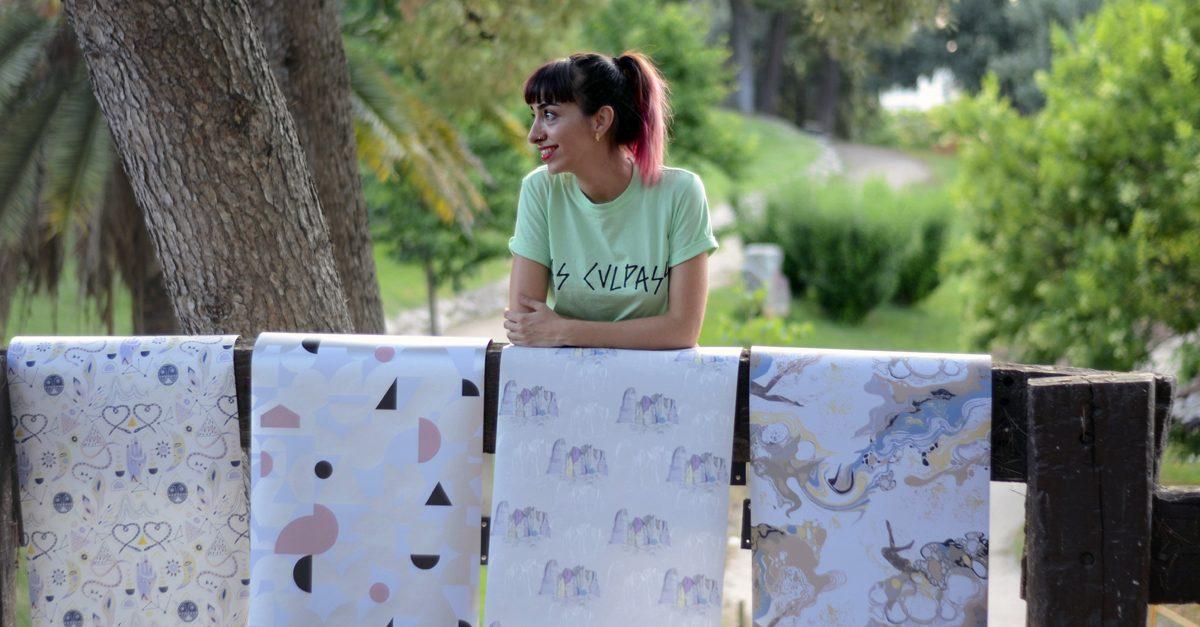 Los diseños y patrones gráficos de Rebeca Zarza