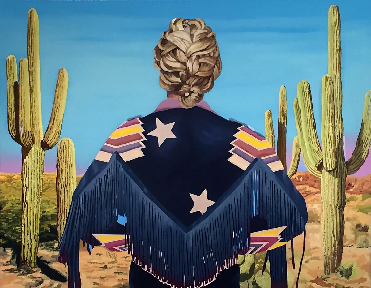 Alejandra Atarés en la Galería A del Arte