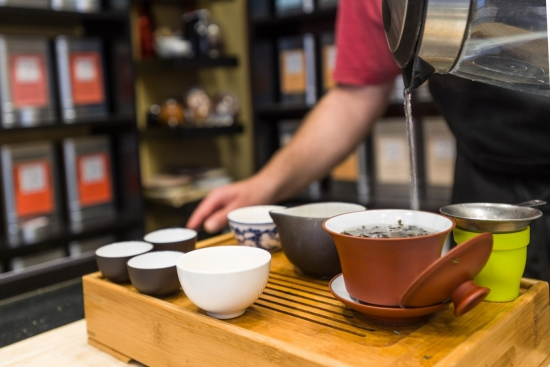 Tienda especializada en té