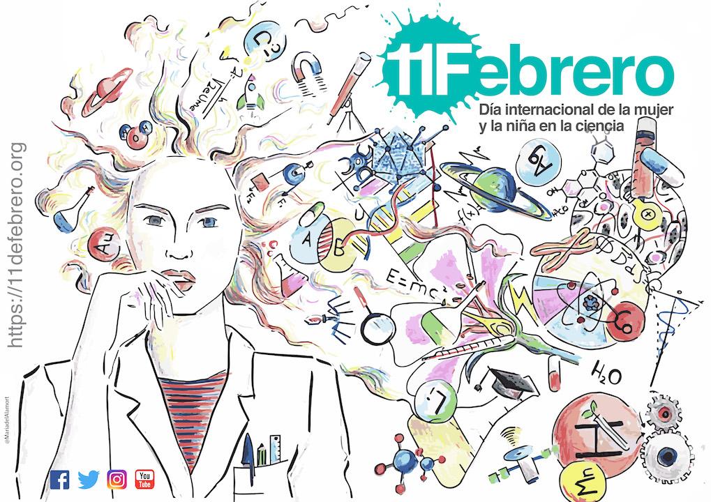 Día de la Mujer en la Ciencia: Zaragoza se vuelca con el 11F