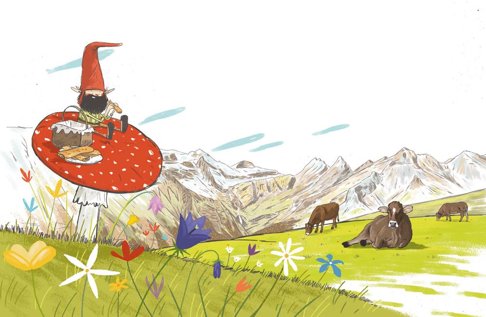 'Lo gorrorroi', el encanto de una fantasía pirenaica animada