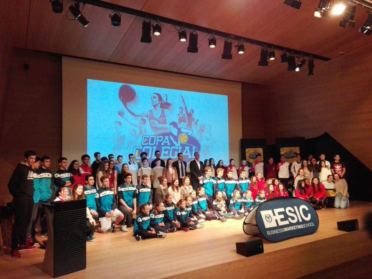 Gala presentación Copa Colegial Zaragoza 2018, el baloncesto en estado puro