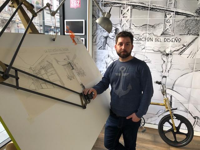 Diego Usón y La Estación del Diseño