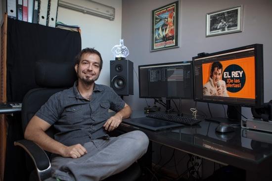 Entrevista a Carlos Peña, director y creador audiovisual en Unvisual studio