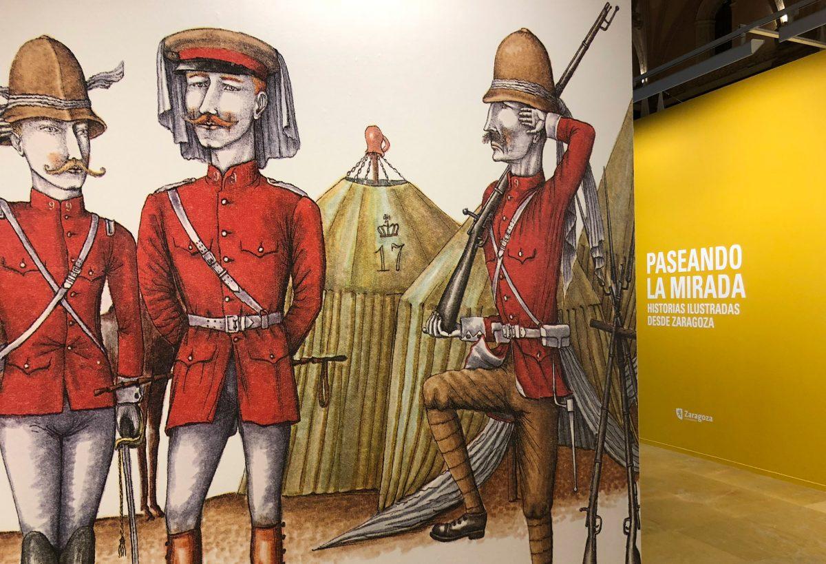 Exposición: Paseando la mirada, historias ilustradas desde Zaragoza
