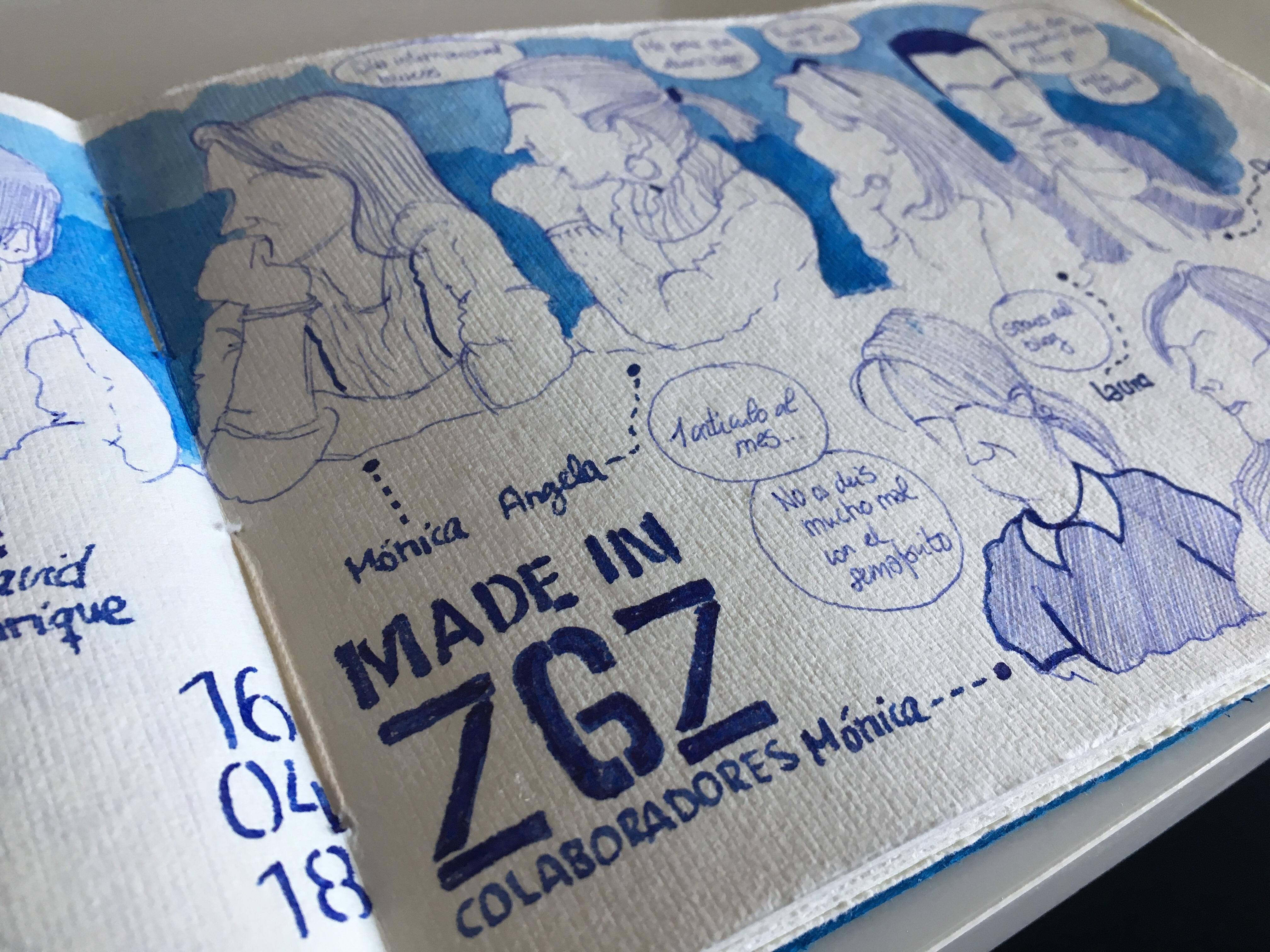 Made In ZGZ: reunión de colaboradores